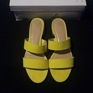 Kyrielle Yellow Slides